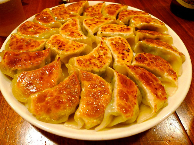 The best gyoza in Japan